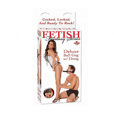 Fetish Fantasy - Deluxe Ball Gag with Dong
