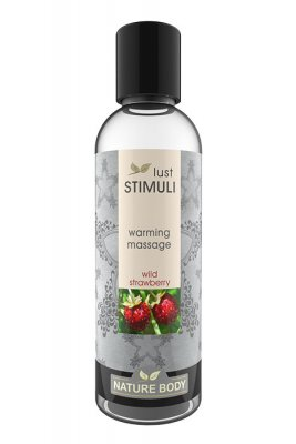 Warming Massage Wild Strawberry 100ml