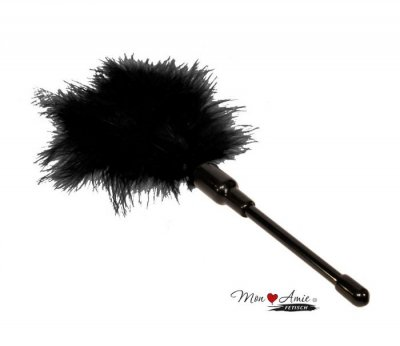 Mon Amie - Feather Tickler Mini Svart